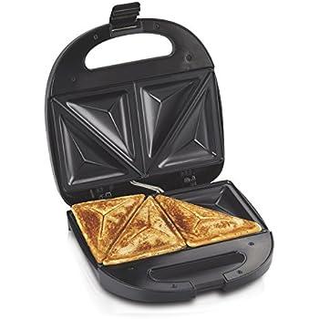 Amazon Com Cuisinart Dual Sandwich Nonstick Electric