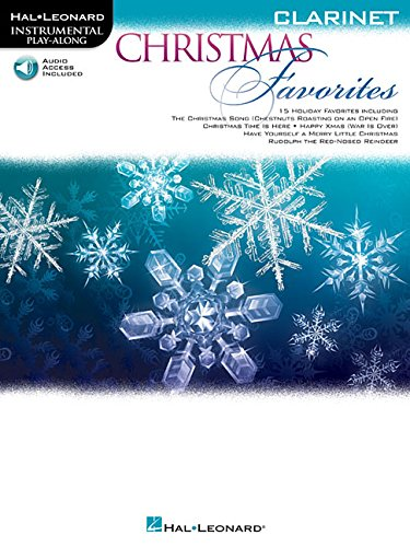 Christmas Favorites: Clarinet (Hal Leonard Instrumental Play-Along) Christmas Favorites Clarinet