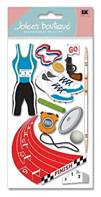 Jolee's Boutique Dimensional Stickers, Track and Field