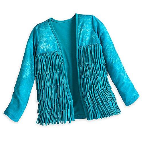 Disney Uma Cardigan for Girls - Descendants 2 Size 5/6 Blue