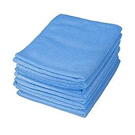 Motor Trend Blue Professional Microfiber Cleaning Cloth – No-Scratch Polishing Detail Towel – for Auto (Car Sedan Truck…