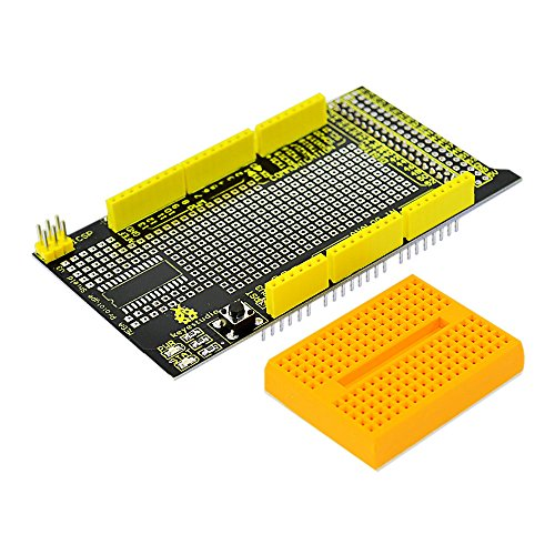 Keyestudio MEGA Protoshield V3 for Arduino with Mini Breadboard