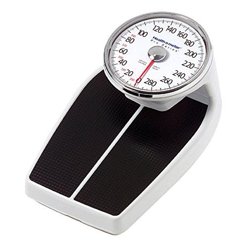 Health O Meter 160lbs. Mechanical Floor Scale, 400 lb. Capacity, 12-1/2