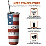 Jim-Beam-Devils-Cut- 20oz Skinny Stainless Steel