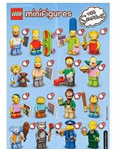 LEGO Simpson Minifigures Complete Set of 16! IN HAND! USA SELLER!