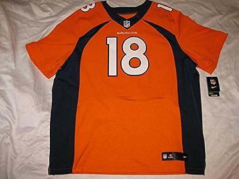 best loved c4b50 5f412 Amazon.com: Peyton Manning Denver Broncos Orange Size 56 ...