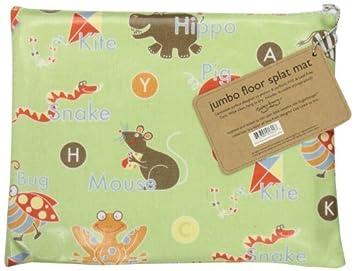 Amazon.com: Sugarbooger Jumbo Splat Mat ABC Color: ABC ...