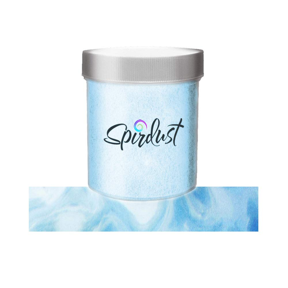Roxy & Rich Spirdust Cocktail Shimmer Dust with Pearl Effect - Blue Pearl - 25 Grams