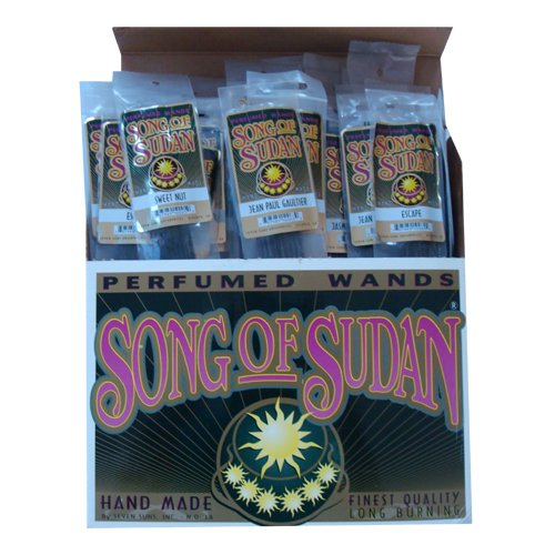 1 BOX OF SONG OF SUDAN INCENSE 72 PIECES by SONG OF SUDAN (Image #1)