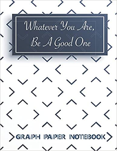 amazon graph paper notebook whatever you are be a good one square