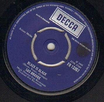 LOS BRAVOS - BLACK IS BLACK - 7 inch vinyl / 45