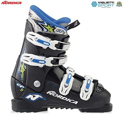 Nordica GP Junior Skischuhe Kinder Ski Stiefel - Gr. 37,0 / MP 235 - 117904-9500