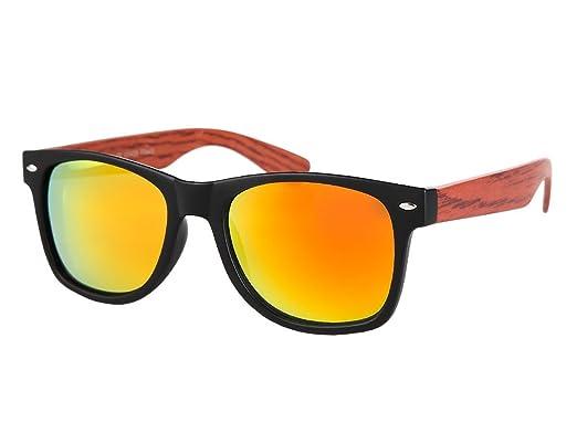Lunettes de soleil nerd aspect bois optique fashion moderne tendance belle  paire de lunette souple homme eb714c7d275