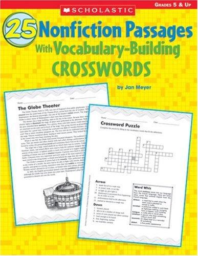 Amazon.com: 25 Nonfiction Passages With Vocabulary-Building ...