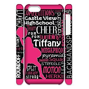 Diy Cheerleader Cheerleading Phone Case for iphone 5c 3D Shell Phone JFLIFE(TM) [Pattern-6]