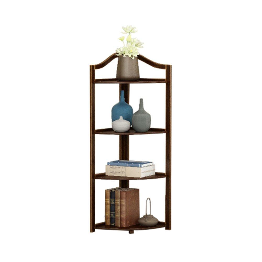 LXLA- Angolo in legno massello Fioriera Stand Camera da letto Treppiede Planter Espositore Soggiorno Multilayer Pianta in vaso Rack 3,4,5-Tier (dimensioni   31×31×100cm)