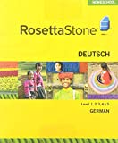 Rosetta Stone Homeschool GermanLevel 1-5 Set including Audio Companion