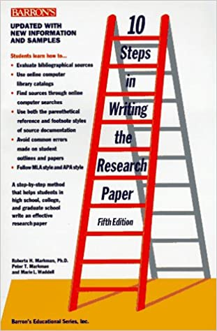 10 Steps In Writing The Research Paper Markman Children's Programs - image 3