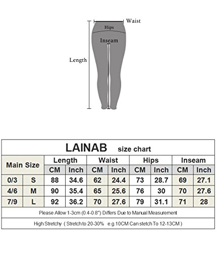 LAINAB Women Sexy Pleated Ankle Zipper Leggings Joggers Moto Pants Olive L