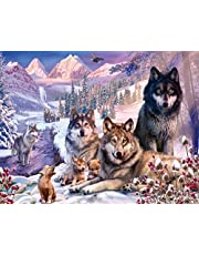 Ravensburger 16012 Wolves 2000 Piece Puzzle for Adults - Every Piece is Unique, Softclick Technology Means Pieces Fit Together Perfectly