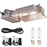TopoLite CMH 315W/ 630W CDM 120/240V Grow Light Kit Bulb & 120V Plug Included Hydroponic Indoor System (Enclosed CMH 630W(3100K)-2) Review