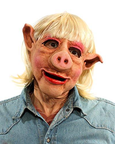 Zagone Studios Ms Pig (Female Swine) (Adult Swine Latex Mask)