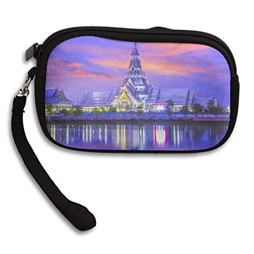 Portable Purple Temple Sky Small Receiving Printing Thailand Deluxe Bag Purse 00pdwxr