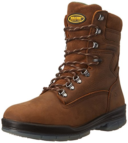 Wolverine Men's 8 Inch Durashock High Performance Work Boot,Stone,10 M US (Wolverine Compressor 8 Inch Boot)