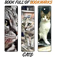 Book Full Of Bookmarks Cats: 33 PCS Cute Cat Bookmarks for Men, Women, Teens, Students, Kids, Planner, Craft Ideas…