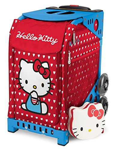 Zuca Hello Kitty ''Labor of Love'' Sport Insert Bag (Bag Only, Frames Sold Separately) with Matching Pouch by ZUCA