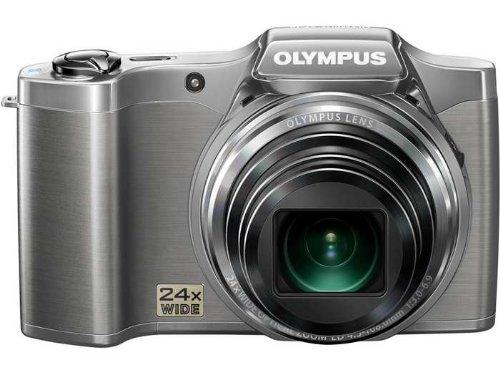 オリンパス デジタルカメラ「SZ-14DX」大望遠セット(シルバー)OLYMPUS SZ-14DX SZ-14DX-SLV   B00920KVRQ