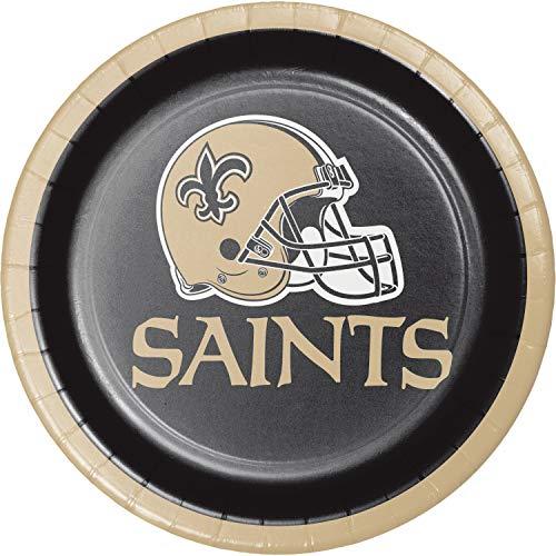 New Orleans Saints Dessert Plates, 24 ct ()