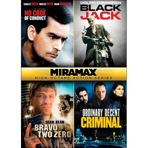 Miramax High-Octane Action Series: No Code of Conduct / Blackjack / Bravo Two Zero / Ordinary Decent Criminal