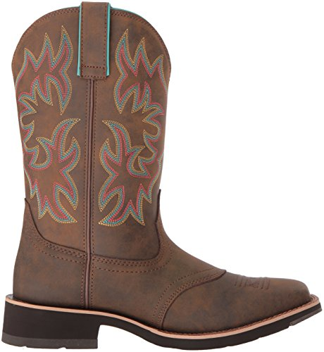 Delilah Work Ariat Boot Women's Toasted Brown 0UAOwq5