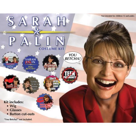 Governor Sarah Palin Kit Adult Halloween Accessory (Governor Sarah Palin Kit)