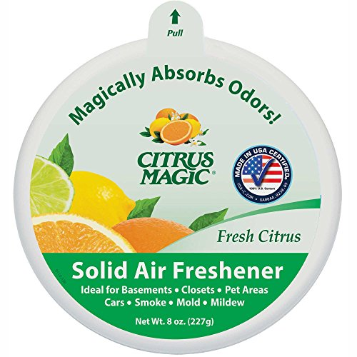 Citrus Magic Solid Air Freshener, Fresh Citrus, 8-Ounce (Fresh Air Freshener)