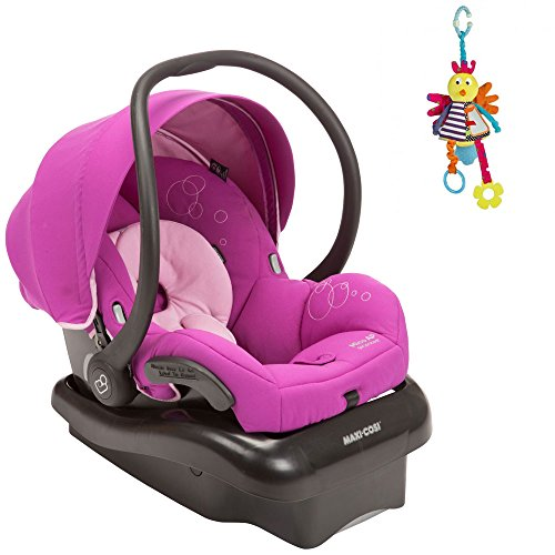 Maxi Cosi Mico AP Infant Car Seat in Posh Purple w Jangly Bird