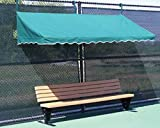 Tennis Court Seating - Har Tru Fence Cabana