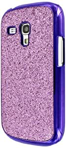 Empire Mpero - Carcasa para Samsung Galaxy S3 Mini I8910, diseño de purpurina, color morado