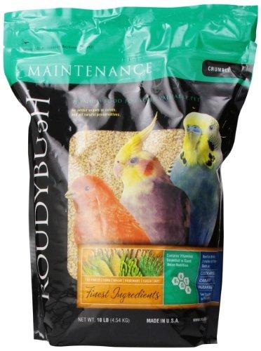 Roudybush Daily Maintenance Bird Food, Crumbles, 10-Pound by RoudyBush