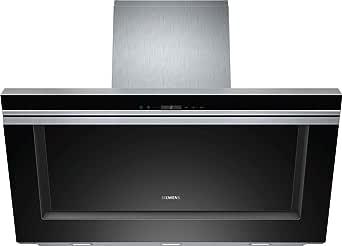 Siemens LC91KB672 - Campana (Canalizado/Recirculación, 800 m³/h, 380 m³/h, Montado en pared, LED, Negro): Amazon.es: Grandes electrodomésticos