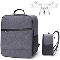 Uni_Uni XIAOMI Mini Drone Quadcopter Backpack Outdoor Shockproof Backpack Shoulder Bag Soft Carry Bag (Gray)