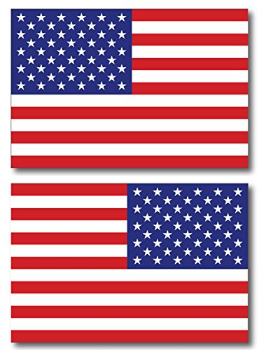 2019 Mississippi State Quarter - American Flag Car Magnet Decal - 4 x 6 Opposing Heavy Duty for Car Truck SUV