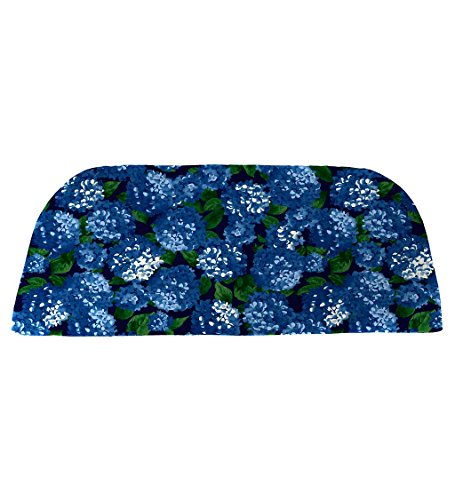 Classic Polyester Outdoor Swing/Bench Cushion, 41'' x 18.75'' x 3'' - Midnight Hydrangea ()