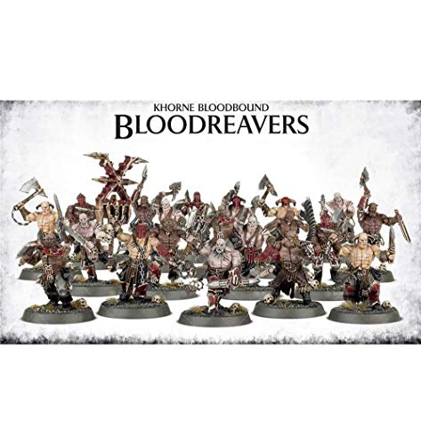 Warhammer Fantasy Miniatures - Games Workshop Warhammer 40K Age of Sigmar Khorne Bloodboun Bloodreavers