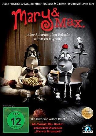 Mary Max Movie Dvd 2009 Amazon Co Uk Dvd Blu Ray