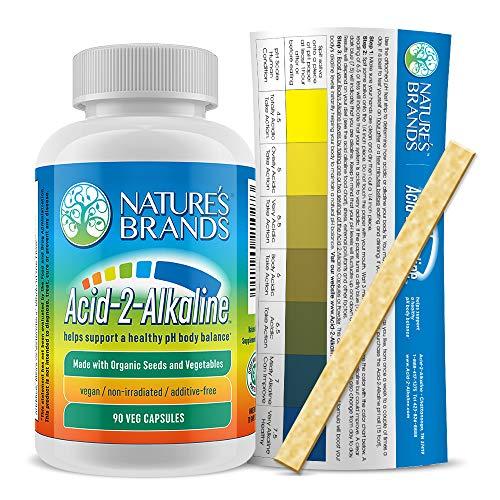 Nature's Brand - Acid-2-Alkaline Whole Food Alkalizing Vegetarian Capsules  - Organic Alkaline