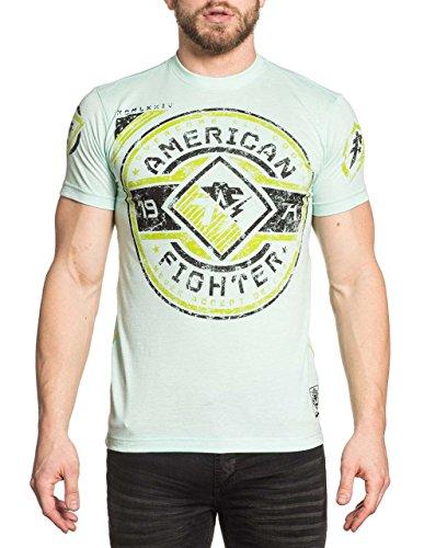American Fighter Bronx Shirt - Aqua - (Mma Fighter)