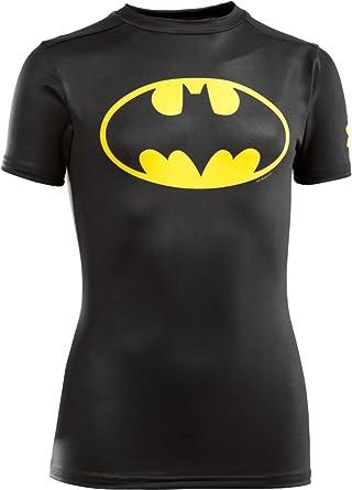 c90d4516 Under Armour Kids Boy's Alter Ego DC Comics Batman S/S Base Layer (Big