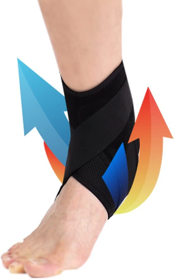 Joint Pain Left Injury Recovery Plantar Fasciitis for Injured Ankle Protection and Sprain Support Athletics Aider Ankle Support Brace